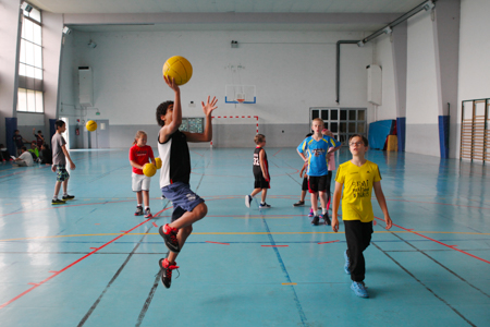 Vitacolo, camp basket
